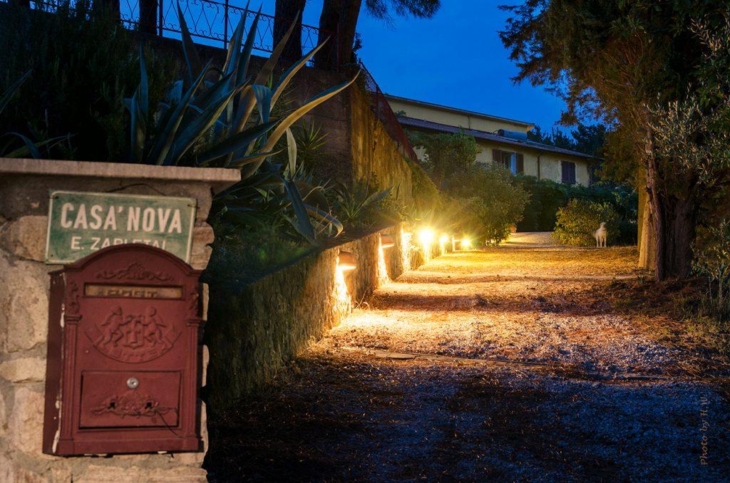 Toskana Urlaub Ferienwohnungen Auffahrt