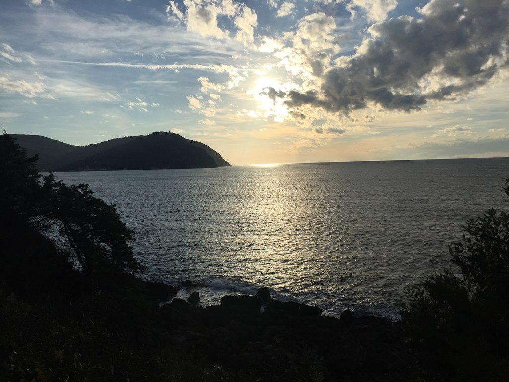 Toskana-Urlaub Meerblick