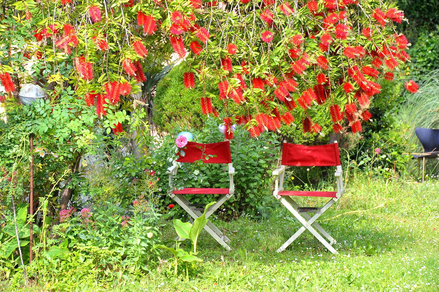Toskana Urlaub Ferienwohnungen Garten
