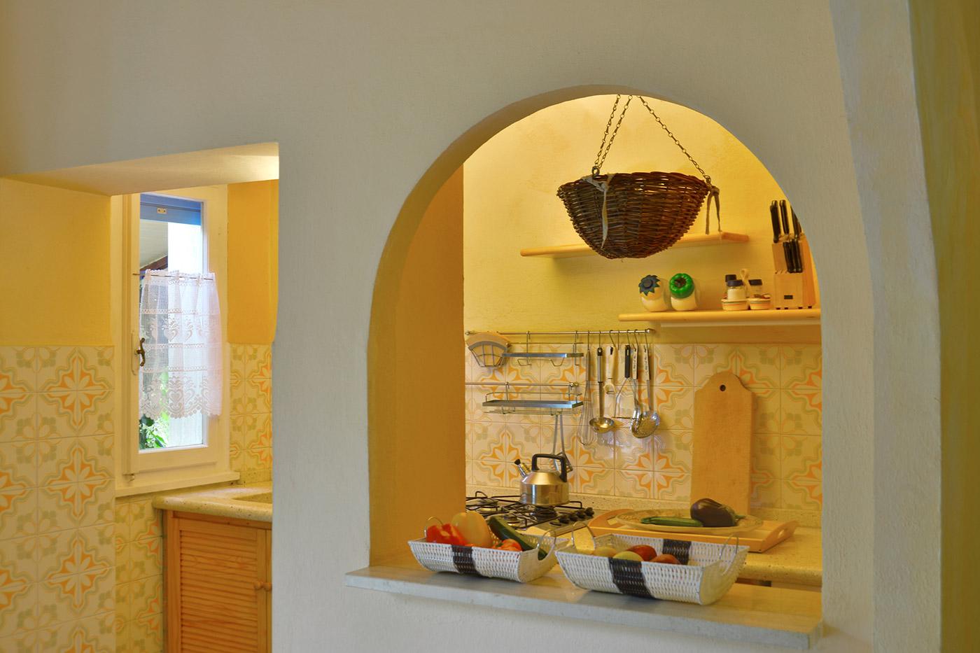 Toskana Urlaub Ferienwohnung D Küche